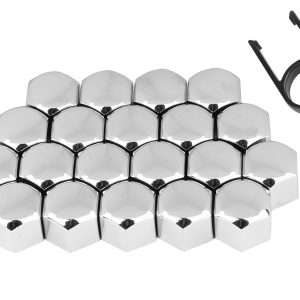Wheel Chrome Plastic Nuts Bolts Caps Covers