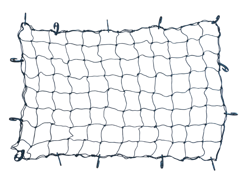 Bungee cord net.