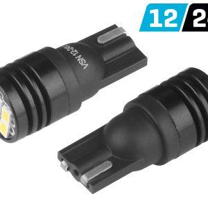 2 x T10 6 x 3020 SMD LED Bulbs
