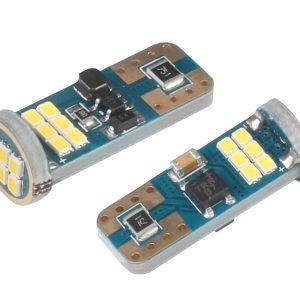 2 x T10 W5W 18 x 2016 SMD LED Bulbs