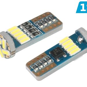 2 x T10 W5W 15 x 4014 SMD LED Bulbs