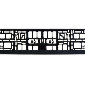 Black Number Plate Surrounds Holder Frame