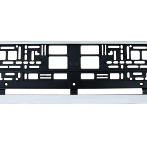 Chrome Number Plate Surrounds Holder Frame