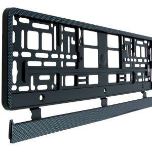 Carbon  Number Plate Surrounds Holder Frame