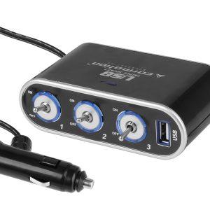 12/24V Cigarette Lighter Adapter  Power Socket