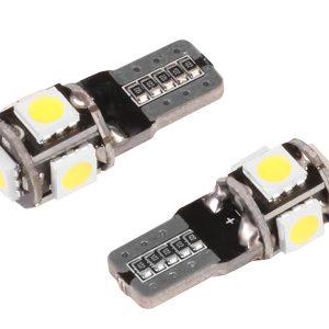 2 x T10 5 x 5050 SMD LED Bulbs