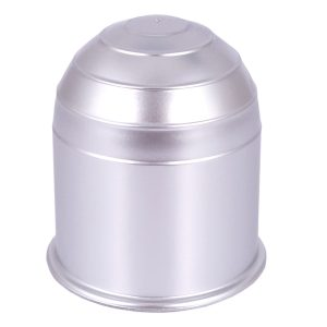Silver Plastic Tow Bar Ball Cover Cap